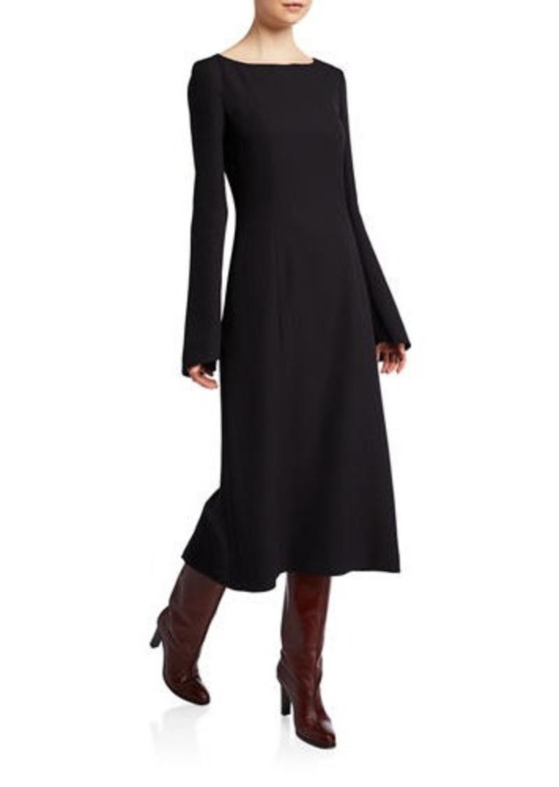 THE ROW Silk Cady Dress