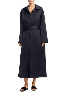 The Row Silk Luster Coat