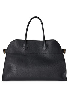The Row Soft Margaux 15 Leather Bag