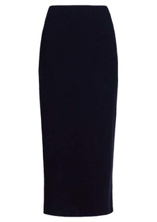 The Row Stratski wool-blend midi skirt