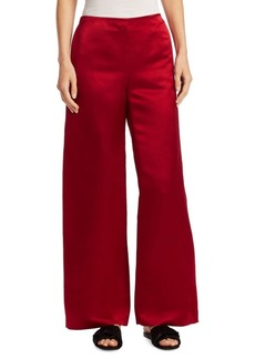 The Row Strom Silk Pants
