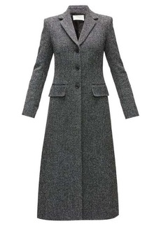 The Row Sua single-breasted wool-blend tweed coat
