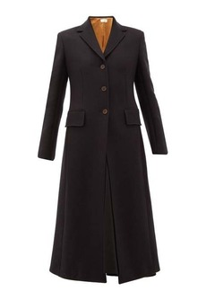 The Row Sua single-breasted wool-blend twill coat