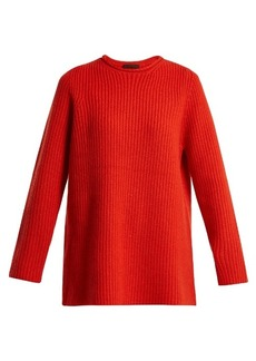 The Row Taby ribbed-cashmere sweater