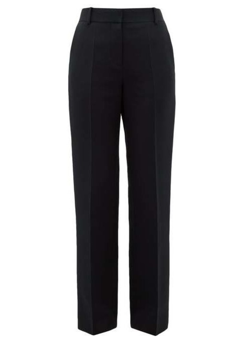 The Row Tacome wool and silk-blend trousers