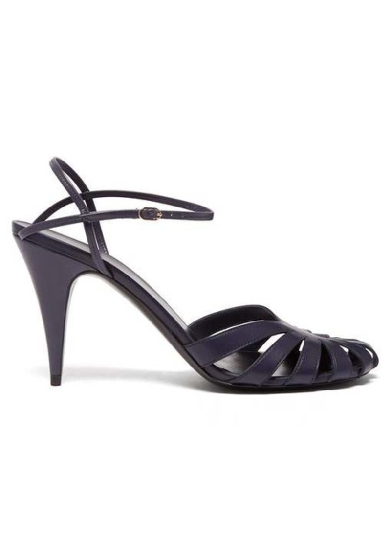 The Row Tango cut-out leather sandals