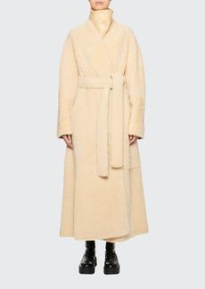 THE ROW Tanilo Lamb Fur Coat