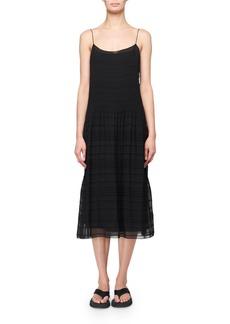 THE ROW Tanya Plisse Slip Dress