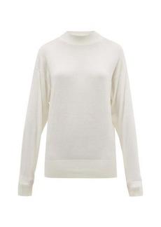 The Row Taryn oversized bouclé sweater