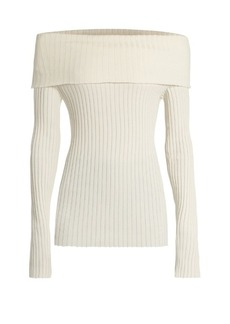 The Row Tulah silk-blend sweater