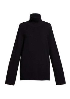 The Row Vaya roll-neck sweater