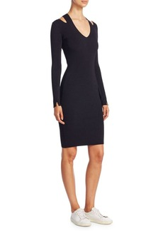 The Row Venia V-Neck Dress