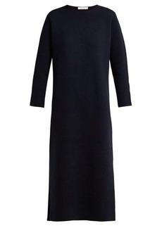 The Row Veronia merino wool-blend dress
