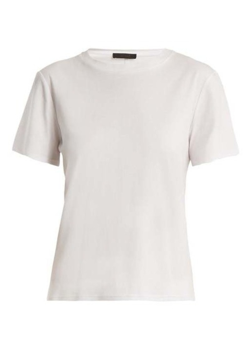 The Row Wesler short-sleeved cotton-jersey T-shirt