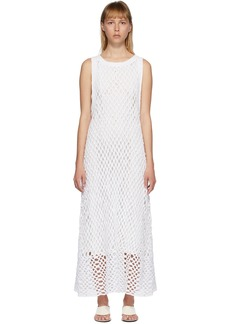 The Row White Atis Dress
