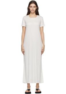The Row White Cetya T-Shirt Dress