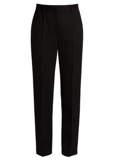 The Row William slim-leg wool-blend twill trousers