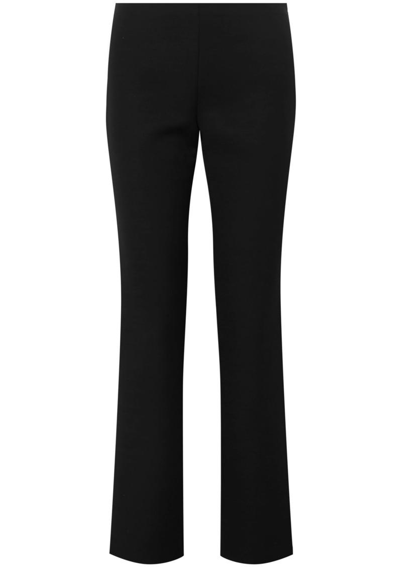 The Row Woman Danu Wool-blend Straight-leg Pants Black