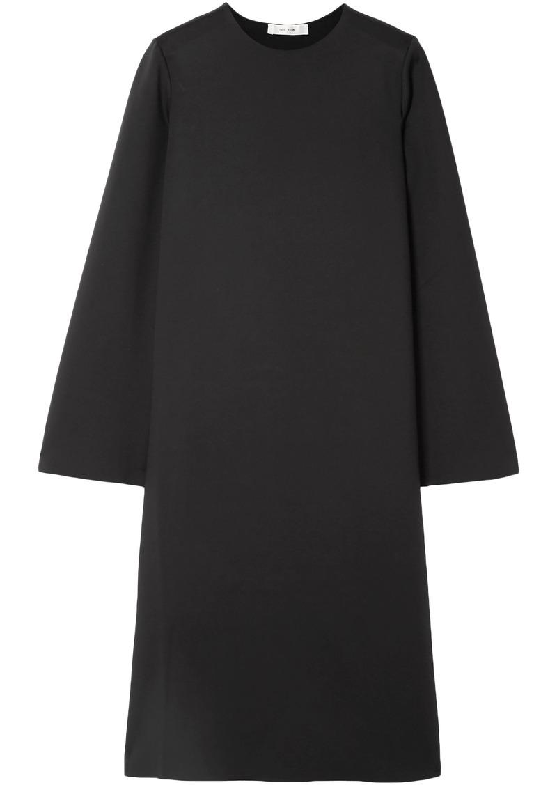 The Row Woman Elmi Scuba Dress Black