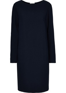 The Row Woman Karina Crepe Dress Navy
