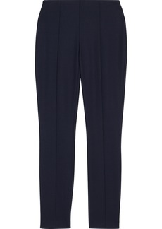 The Row Woman Kosso Stretch-wool Leggings Navy