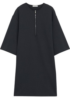 The Row Woman Latif Oversized Neoprene Mini Dress Charcoal