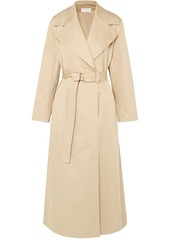 The Row Woman Moora Cotton-blend Poplin Trench Coat Beige