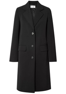 The Row Woman Teymon Cotton-blend Coat Black