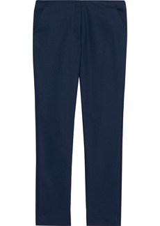 The Row Woman Tips Cady Slim-leg Pants Navy