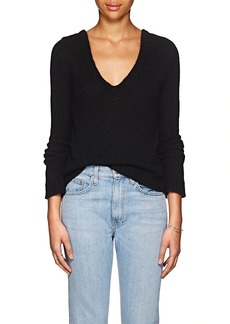 The Row Women's Aetra Brushed Cashmere-Blend Sweater