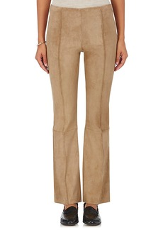 The Row Women's Beca Suede Flared Pants