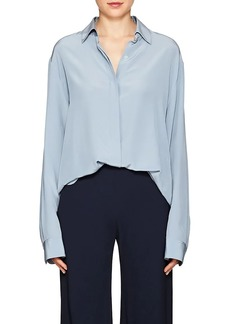 The Row Women's Big Sisea Silk Crêpe De Chine Shirt