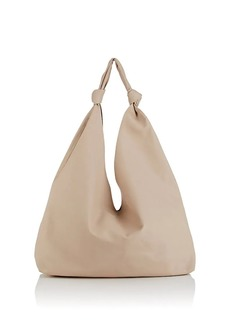 a54b49af00d4 The Row Women s Bindle Double-Knot Leather Shoulder Bag - Ivorybone