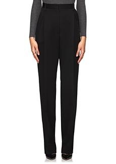 The Row Women's Brina Wool-Blend High-Waist Trousers