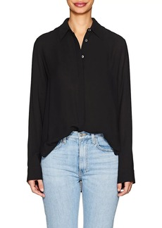 The Row Women's Carla Twill Blouse