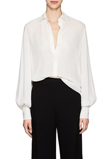 The Row Women's Casta Silk Blouse