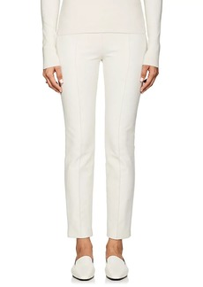 The Row Women's Cosso Cotton-Blend Crop Skinny Pants