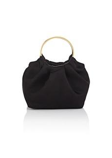 The Row Women's Double-Circle Micro Satin Bag - Black