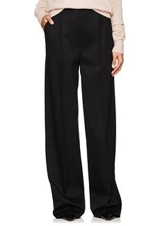 The Row Women's Elin Wool High-Waist Pants