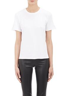 The Row Women's Essentials Cotton Crewneck T-Shirt