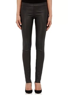 The Row Women's Essentials Stretch-Leather Leggings