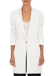 The Row Women's Jaymin Stretch-Cady One-Button Jacket