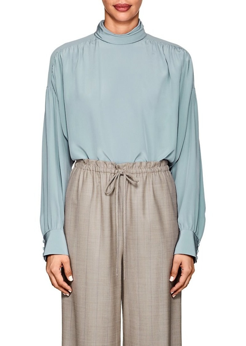 698c7141880dd The Row The Row Women s Losaline Silk Crêpe De Chine Blouse