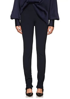 The Row Women's Losso Plain-Weave Skinny Pants