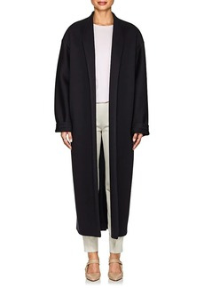 The Row Women's Maiph Neoprene Jersey Oversized Coat