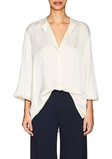 The Row Women's Maura Silk Blouse