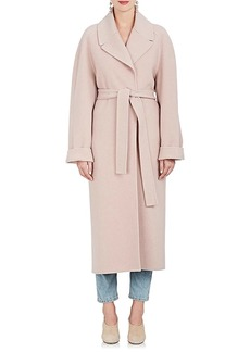 The Row Women's Mesly Cashmere-Wool Belted Coat