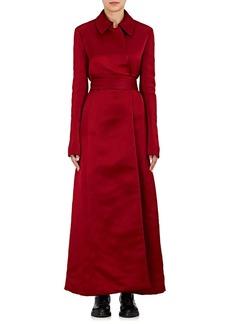 The Row Women's Neyton Silk Long Coat
