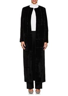 The Row Women's Paycen Fur Long Coat