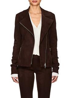 The Row Women's Paylee Suede Moto Jacket